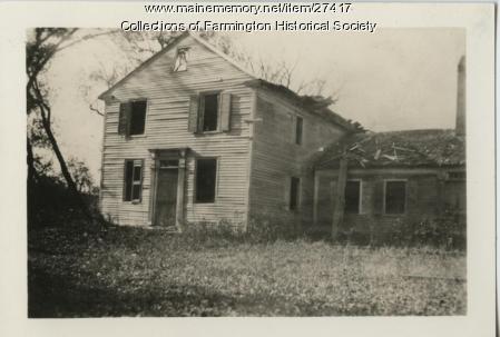 Jonathan Russ's house, Farmington, ca. 1950