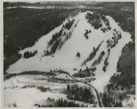 Titcomb Ski Slope, Farmington, ca. 1960