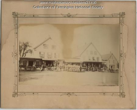 Lowell General Store. Farmington, Ca. 1890