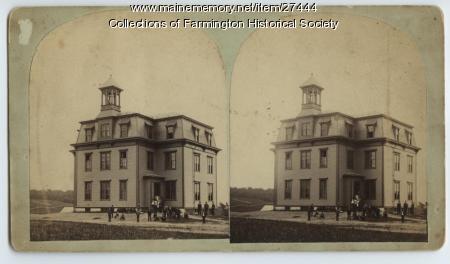 Farmington High School, 1877