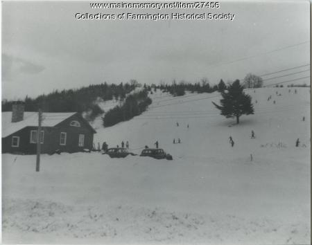 Titcomb Ski Slope, Farmington, circa 1950