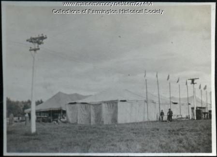 Farmington Fairgrounds, 1918