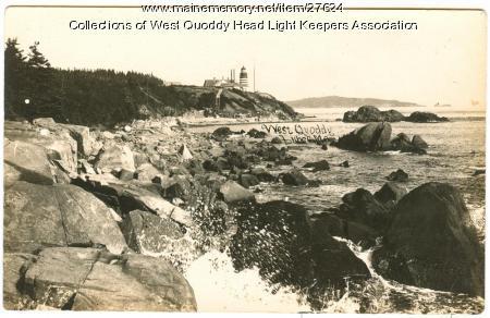 West Quoddy Head Light Station, Lubec, ca. 1895