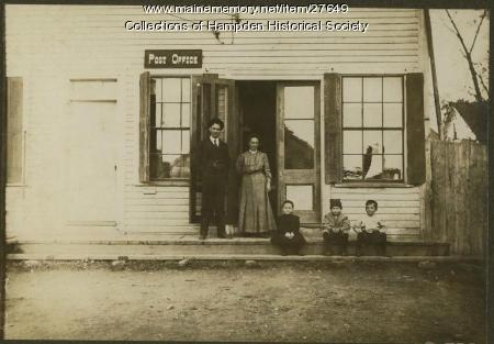 Hampden Highlands Post Office, ca. 1908