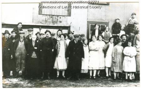 Columbian Canning Company, Lubec, ca. 1910