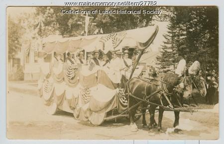 Centennial Parade, Lubec, July 4, 1911
