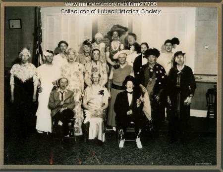 Theatrical event, Lubec, ca. 1908