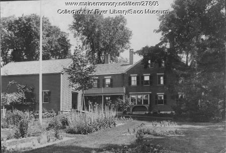 McArthur Garden, Saco, ca. 1895