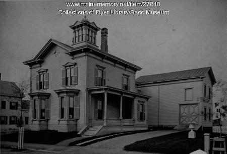 Saco Residence, 21 Cutts Avenue, ca. 1880