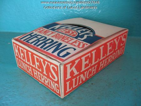 Kelley Smokehouse advertising ephemera, Lubec, ca. 1945