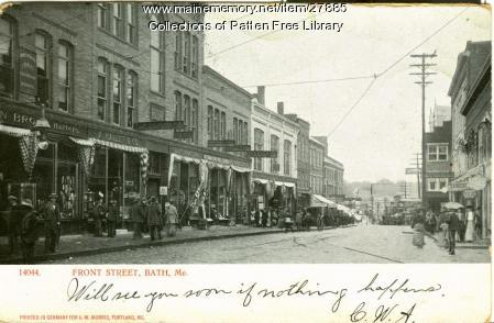 Front Street, Bath, ca. 1903