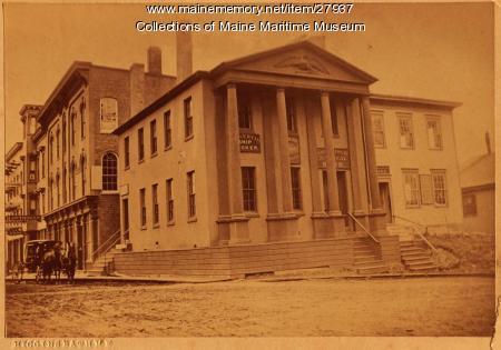 Sagadahock National Bank, Bath, ca. 1876