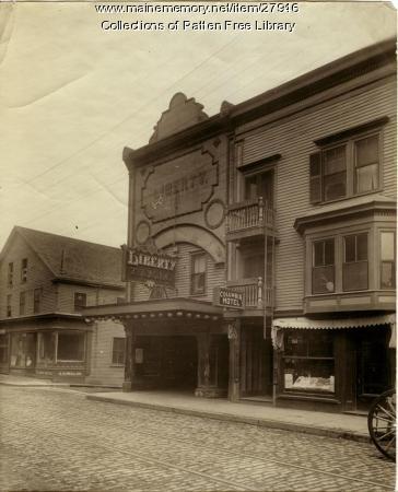 Liberty Theatre, Front Street, Bath, ca. 1923