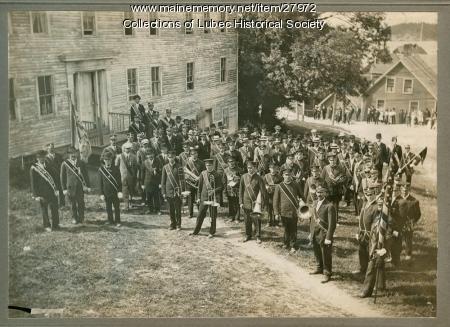 Red Men's Memorial Sunday, Lubec, 1912