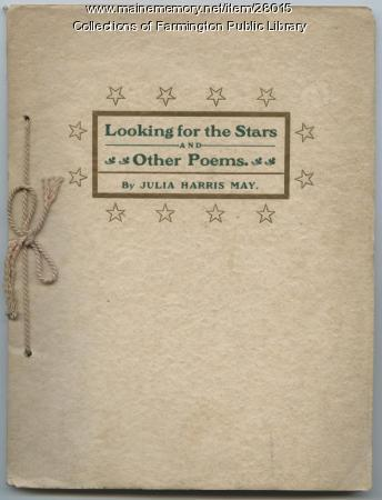 Julia Harris May poetry collection, 1903