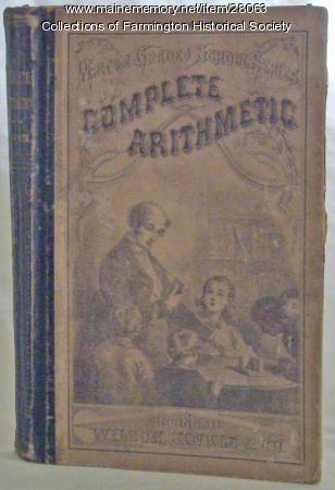 White's Graded School Series, Complete Arithmetic book, 1870