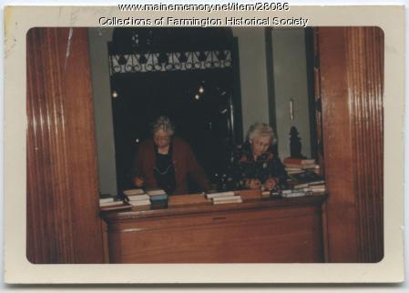 Farmington Public Librarians, 1965
