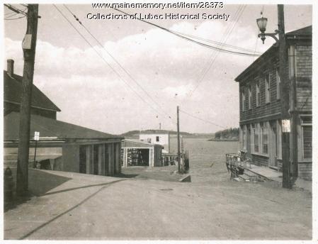 Upper Water Street, Lubec, ca. 1950