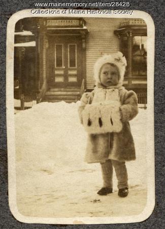 Agnes Kerr, Portland, ca. 1908