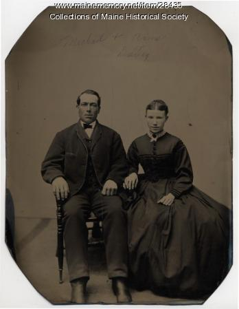 Michael and Anne Dailey, Portland, ca. 1870