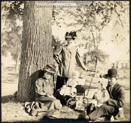 Kerr family, Portland, ca. 1910