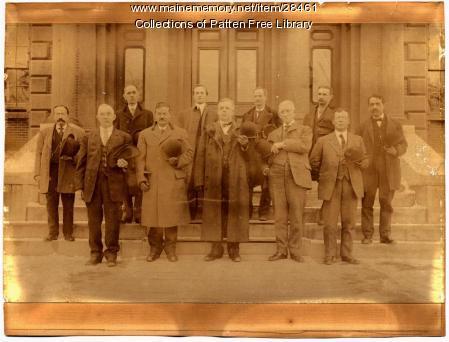 1910 Sagadahoc County Judges