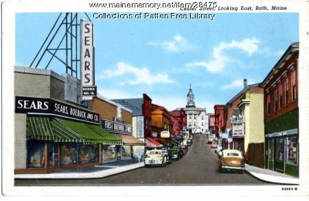 Centre street, Bath, ca. 1950