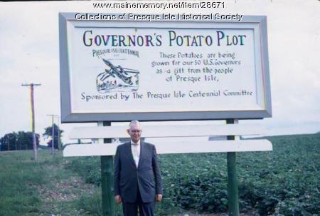 Governor's Potato Plot, Presque Isle, 1959