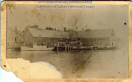 Sardine Cannery, Lubec, 1895