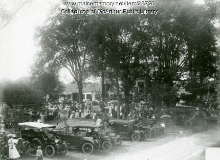 Dorcas Society Fair, Hollis, 1913