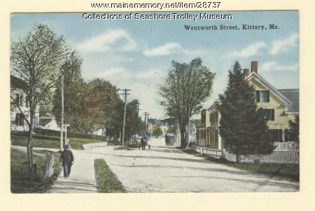 Wentworth Street, Kittery, ca. 1910