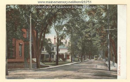 Washington Street, Bath, ca. 1910