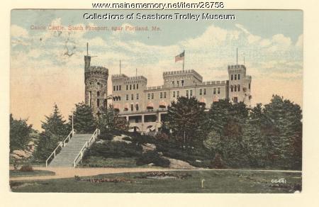 Casco Castle, South Freeport, ca. 1910