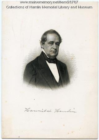 Hannibal Hamlin, ca. 1850
