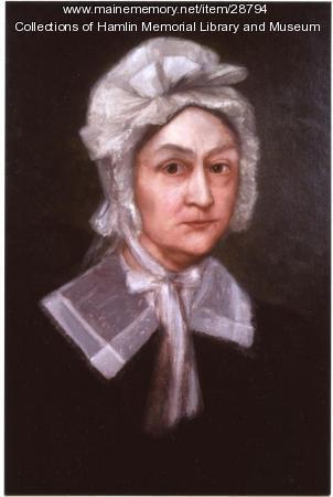 Portrait of Anna Livermore Hamlin, ca. 1820