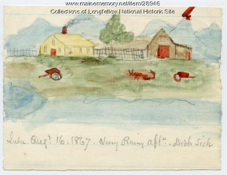Farm Scene, Portland, 1867