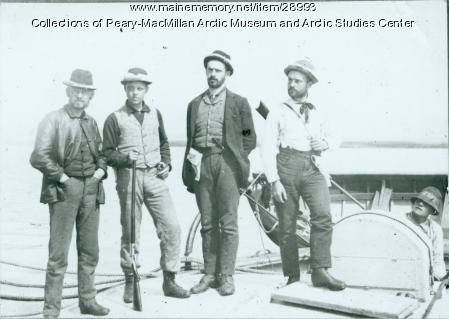 Grand Falls Expedition party, Labrador, 1891