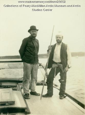 Cary and Cole returned from the Grand Falls, Labrador, 1891