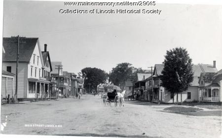 Main Street, Lincoln, ca. 1890