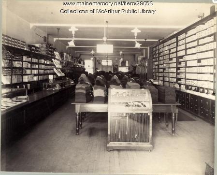 A.H. Benoit Company, Main Street, Biddeford  1899