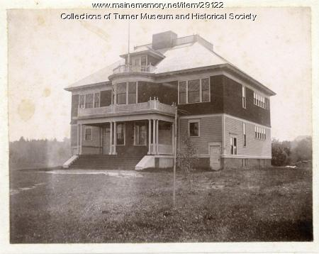 Leavitt Institute Building, Turner Center, ca. 1896