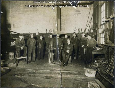 Foundry Workers in Shop, 1897