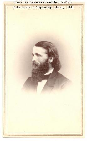 S. H. McCollester, Westbrook Seminary, ca. 1865