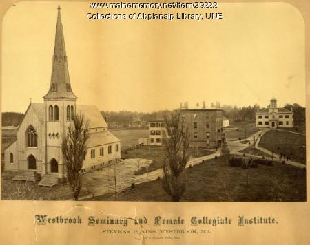 Westbrook Seminary and Female Collegiate Insitute, 1868