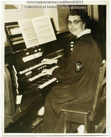 Phyllis M. Cobb, Portland, ca. 1957