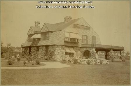 James Hopkins Smith house, Falmouth Foreside, ca. 1895