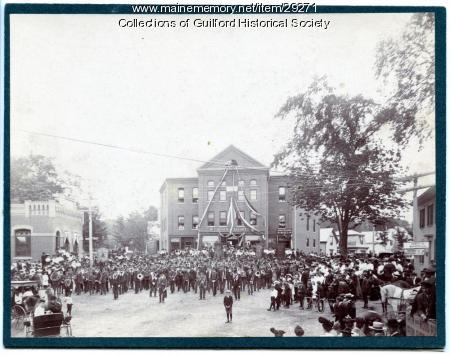 Dedication of Odd Fellows Hall, Guilford, 1904