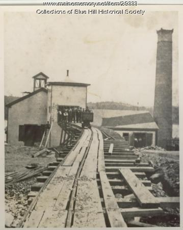 Douglass Copper Mine, Blue Hill, ca. 1880