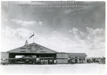 Portland Flying Service, Scarborough, ca. 1946