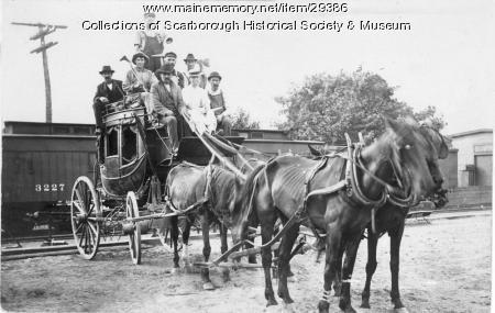 Concord Coach, Scarborough, ca. 1900